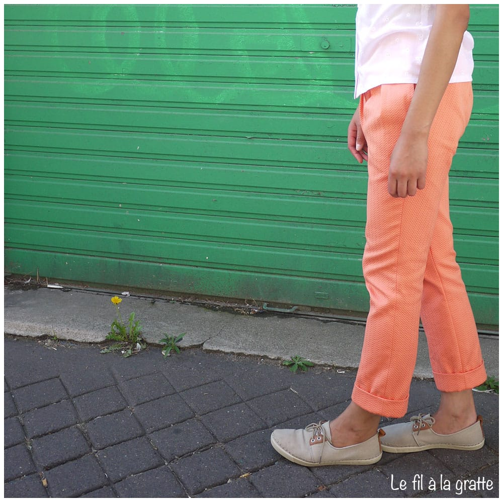 Cool Pharaon - Le fil a la gratte - Pleated Pants