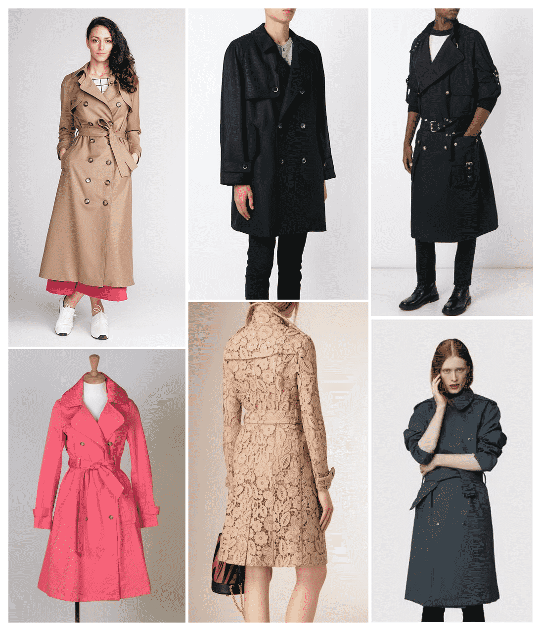 Inspiration Isla Trench Coat