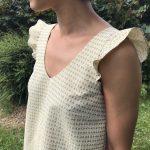 Cool Pharaon - Le fil a la gratte - Robe inspiration Laure de Sagazan