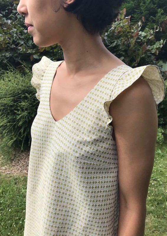 Patron maison / Robe inspiration Laure de Sagazan