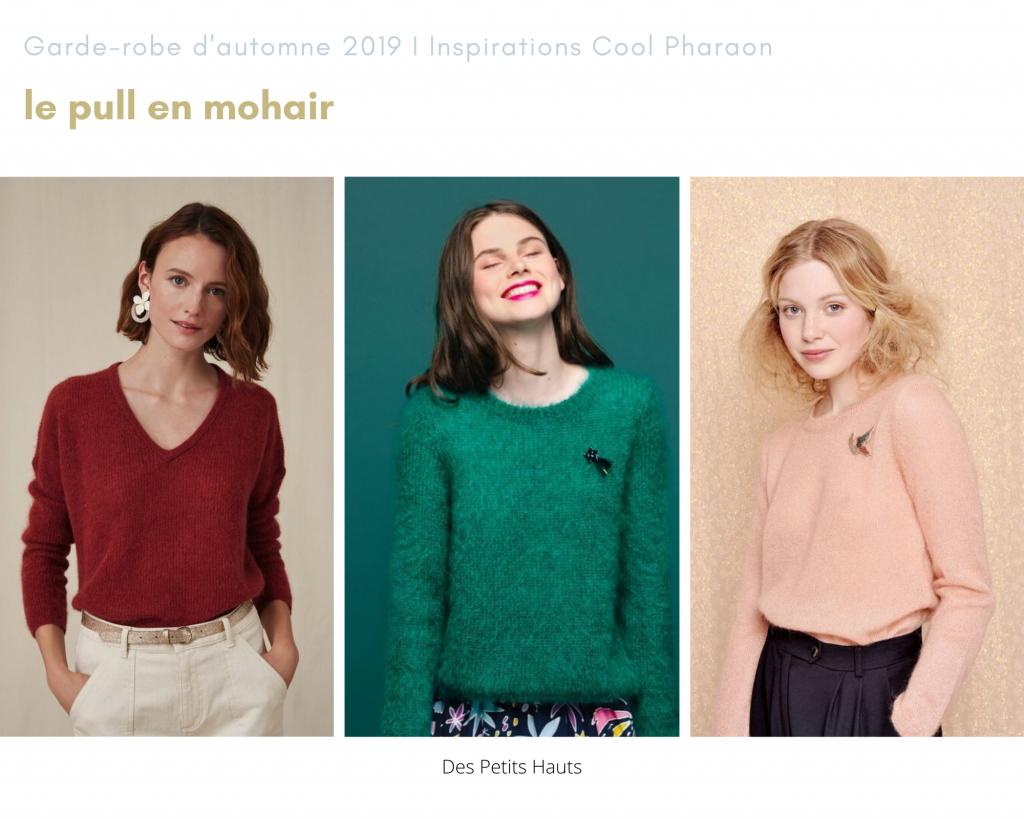 Cool Pharaon - Le fil à la gratte - Inspiration Des Petits Hauts pull en mohair - Cumulus Blouse Petite Knit