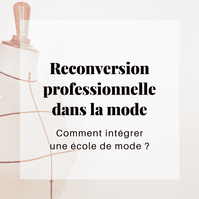 Ebook - Reconversion professionnelle dans la mode
