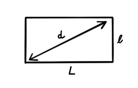 Idée décoration de mariage : les fanions ; Formule pour mesure la diagonale