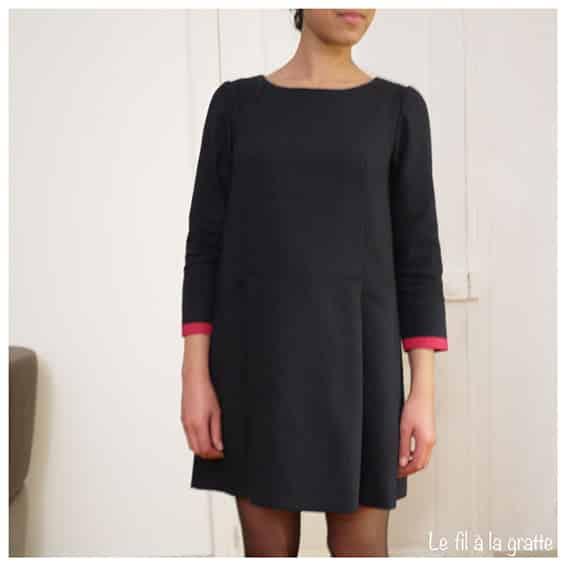 Robe Lexi de Named patron de couture