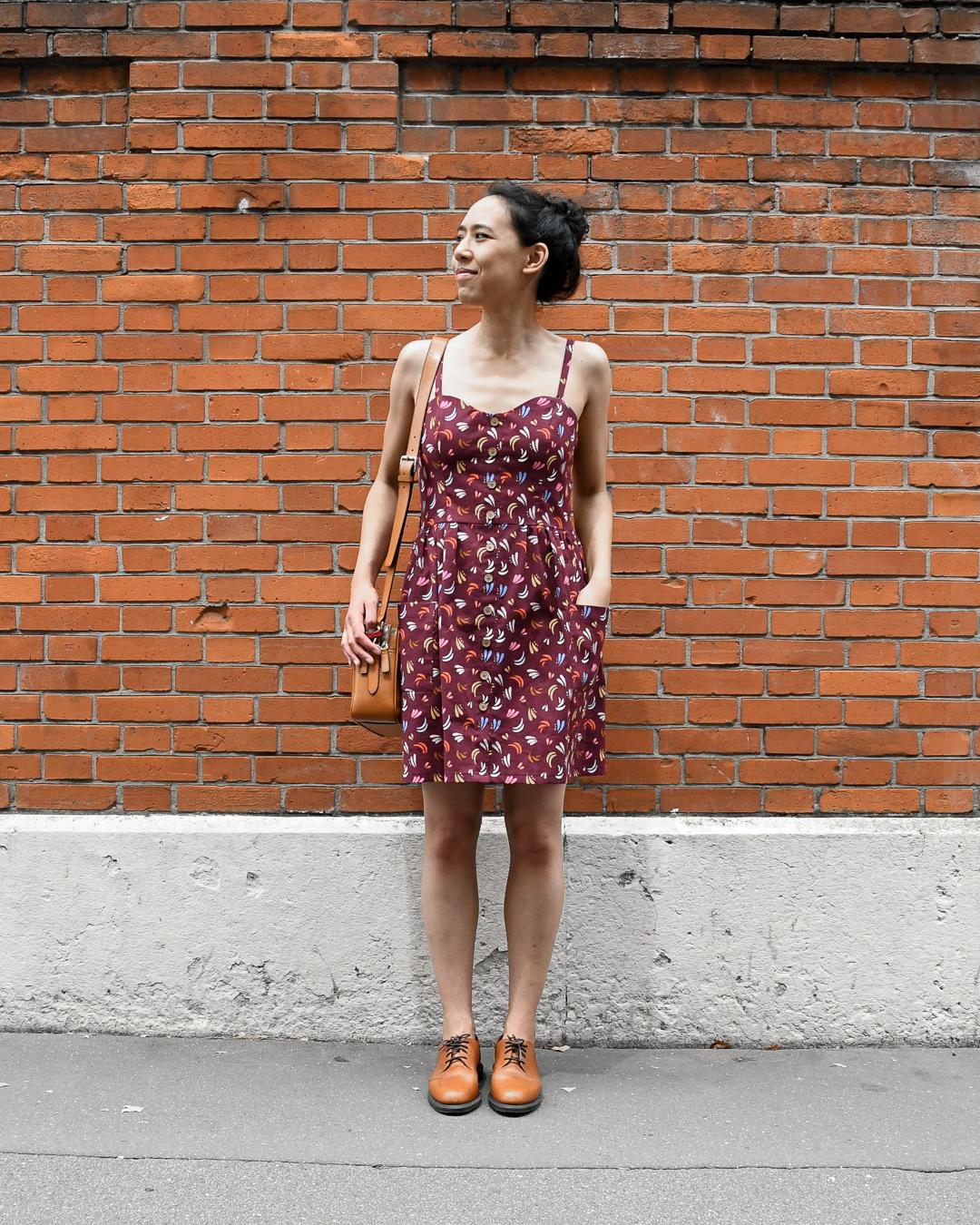 Le fil à la gratte - Robe Colette Fibre Mood - Vue d'ensemble